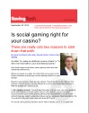 Social Gaming Is Your Goal The Right One